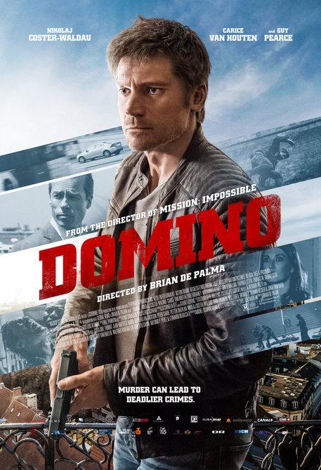 Domino di Brian De Palma, la locandina