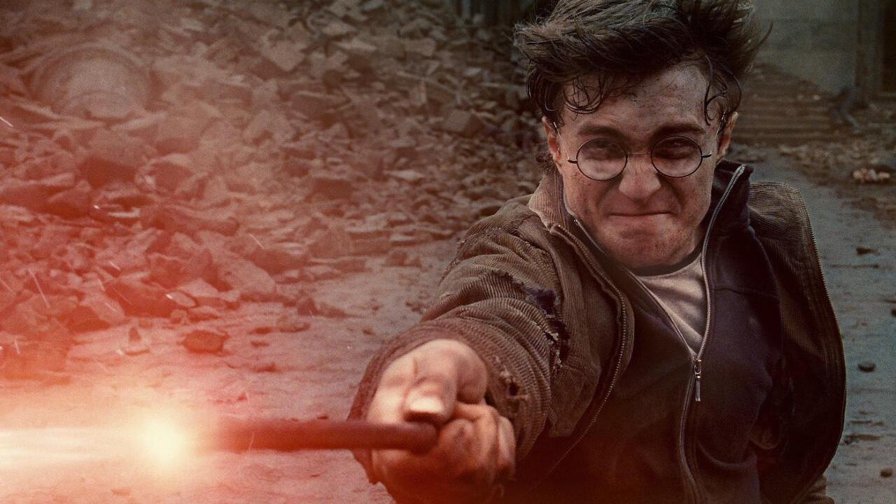 Harry in Harry Potter e i Doni della Morte - Parte 2. Leggi la recensione di cinemando.