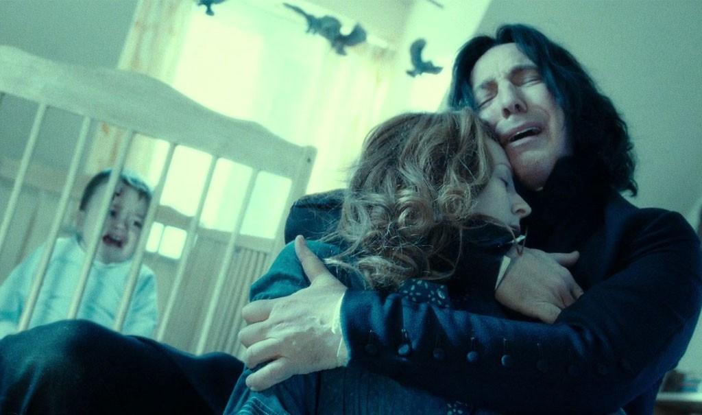 Piton in Harry Potter e i Doni della Morte - Parte 2. Leggi la recensione di cinemando.