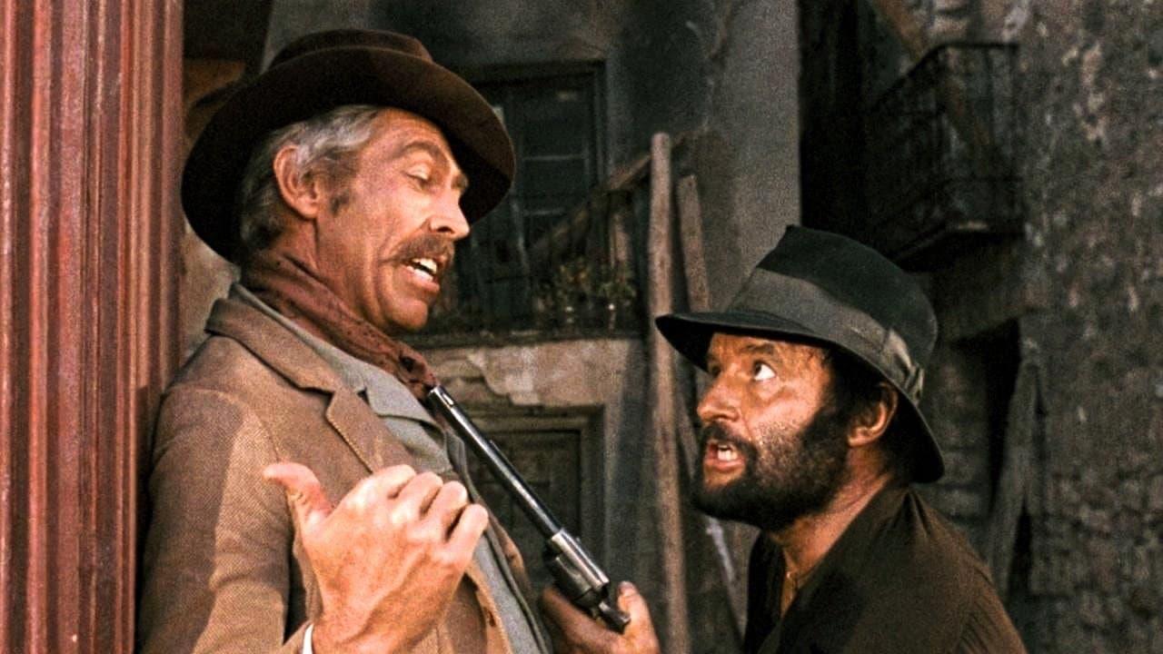 Rod Steiger e James Coburn in Giù la testa. Leggi la recensione di cinemando del sesto film da regista di Sergio Leone.