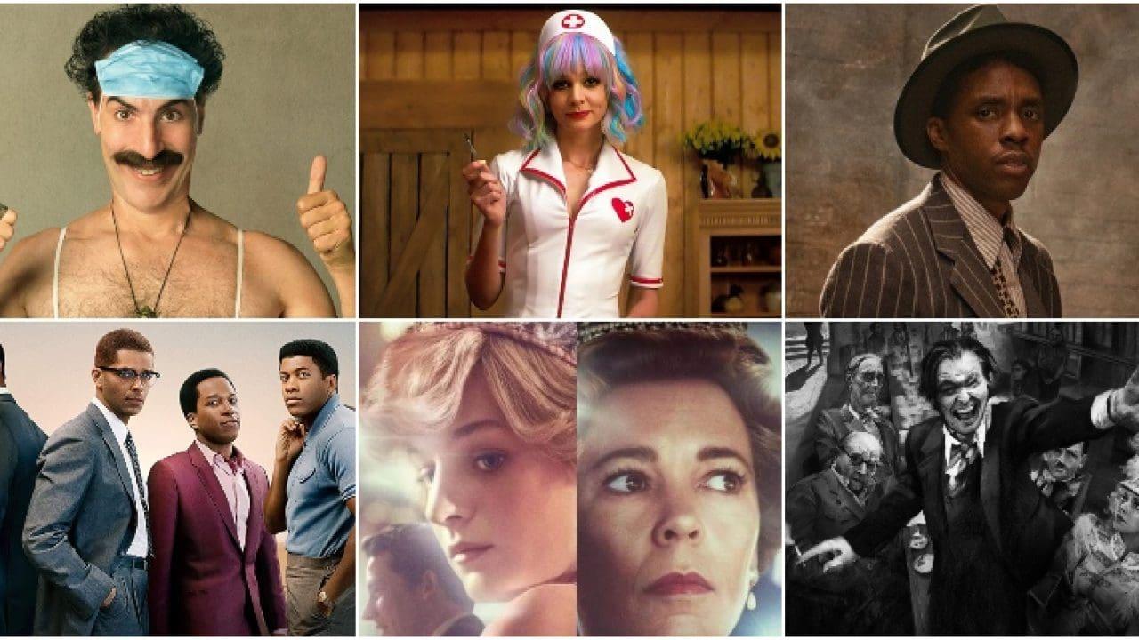Golden Globes 2021, tutte le nomination. Segui i Golden Globes 2021 con Cinemando.