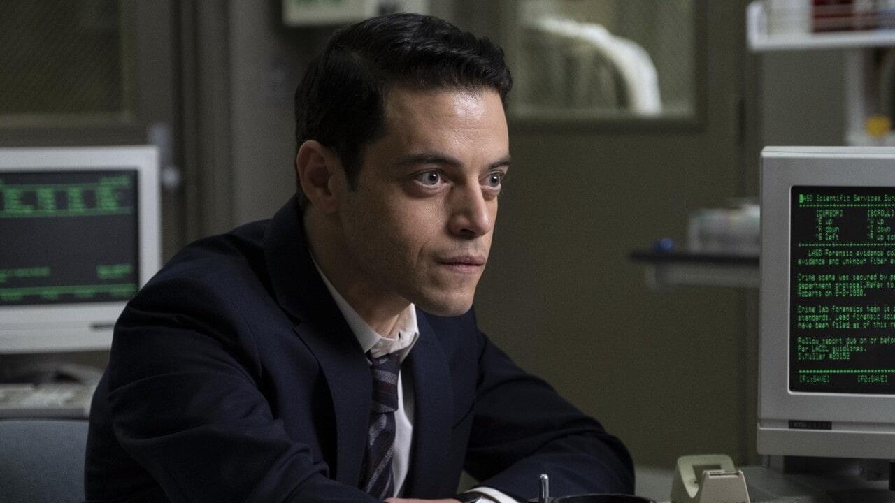 Rami Malek in Fino all'ultimo indizio. Leggi la recensione completa del thriller di John Lee Hancock.